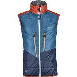 Ortovox Swisswool Piz Cartas Vest - Mens-Grey Blend
