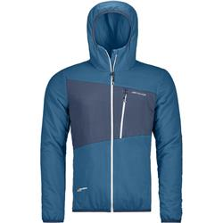 Ortovox Swisswool Zebru Jacket - Mens-Blue Sea