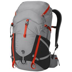 Mountain Hardwear Rainshadow 36 OutDry Backpack-Grey Ice / State Orange