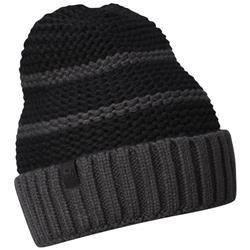 Mountain Hardwear Snowscape Stripe Beanie - Womens-Shark / Black