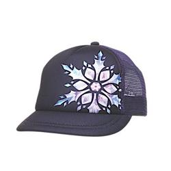 Ambler  Snowflake Trucker - Womens-Midnight