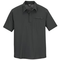Outdoor Research Astroman SS Sun Polo - Mens-Charcoal