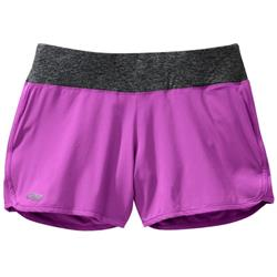 "Outdoor Research Delirium Shorts, 4.5"" Inseam - Womens-Ultraviolet / Black"