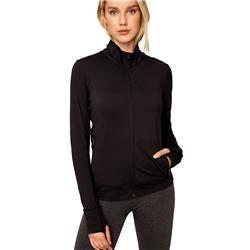 Lole Essential Up Cardigan - Womens-Black