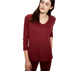 Lole Hava Top - Womens-Windsor Wine Heather