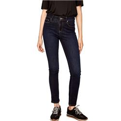 Lole Skinny Long Jeans - Womens-Nightfall Blue Denim