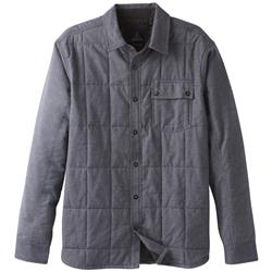 Prana Atilan Lined Shirt - Mens-Charcoal