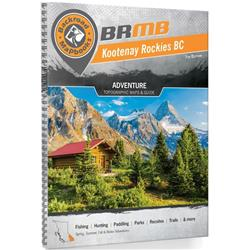 Backroad Mapbooks Kootenay Rockies - Spiral - 7th Edition-Not Applicable