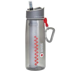 Life Straw Go Bottle - American Red Cross - Single-Not Applicable