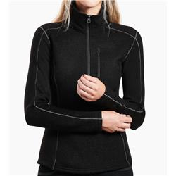 Kuhl Revive 1/2 Zip - Womens-Black