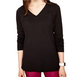 Lole Kuma LS Top - Womens-Black