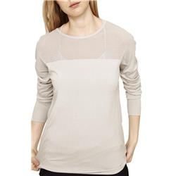 Lole Maelle Sweater - Womens-Light Grey Heather