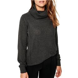 Lole Madge Sweater - Womens-Black Heather