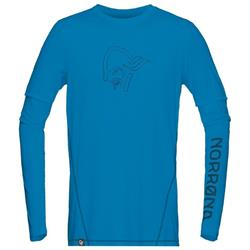 Norrona /29 Tech LS Shirt - Mens-Torrent Blue