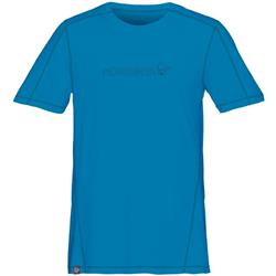 Norrona /29 Tech T-Shirt - Mens-Torrent Blue