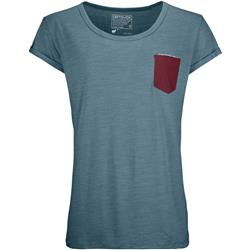Ortovox 120 Cool Tec T-Shirt - Womens-Mid Aqua Blend