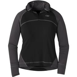 Outdoor Research Alpine Onset Hoody - Womens-Black / Storm