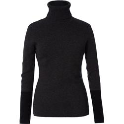 Royal Robbins All Season Merino Turtleneck - Womens-Charcoal