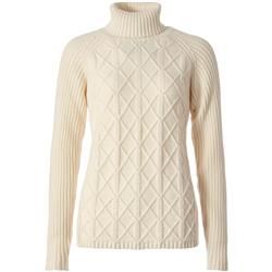 Royal Robbins Frost Turtleneck - Womens-Creme