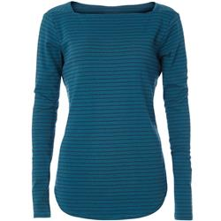 Royal Robbins Kickback Square Neck - Womens-Blue Coral Stripe