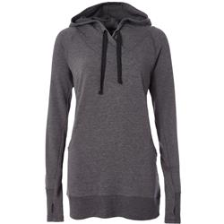 Royal Robbins Renewed Hoody - Womens-Charcoal Heather