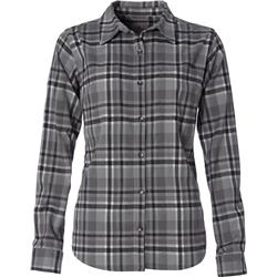 Royal Robbins Thermotech Flannel - Womens-Light Pewter
