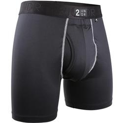 "Power Shift Boxer Brief, 6"" Inseam - Solid - Mens"