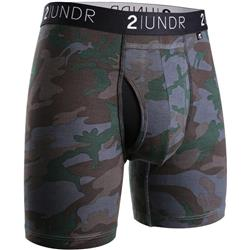 "Swing Shift Boxer Brief, 6"" Inseam - Camo - Mens"