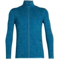 Icebreaker Away LS Zip - Mens-Thunder / Isle