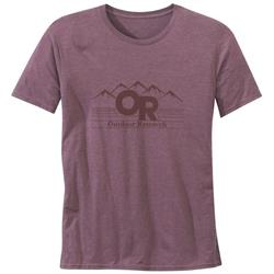 Outdoor Research Advocate Tee - Mens-Firebrick