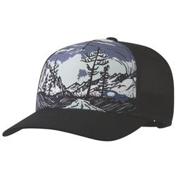 Outdoor Research Alpenglimmer Trucker Hat-Black