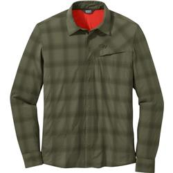 Outdoor Research Astroman LS Sun Shirt - Mens-Fatigue