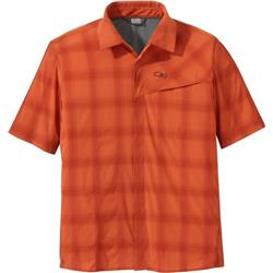 Outdoor Research Astroman SS Sun Shirt - Mens-Burnt Orange