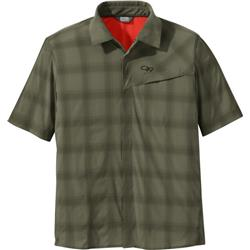 Outdoor Research Astroman SS Sun Shirt - Mens-Fatigue