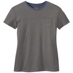 Outdoor Research Axis SS Tee - Womens-Pewter