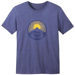 Outdoor Research Dawn Patrol Tee - Mens-Cobalt