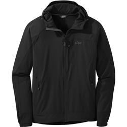 Outdoor Research Ferrosi Hooded Jacket - Mens-Black