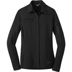 Outdoor Research Ferrosi Shirt Jacket - Womens-Black