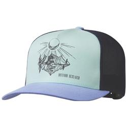 Outdoor Research Moonshine Trucker Hat-Hydrangea / Seaglass
