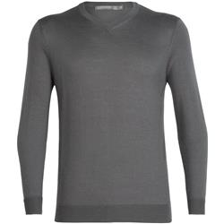 Quailburn V-Neck Merino Sweater - Mens