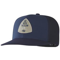Outdoor Research Performance Trucker -Go with the Flow-Naval Blue