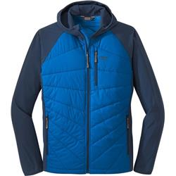 Outdoor Research Refuge Hybrid Hooded Jacket - Mens-Cobalt / Naval Blue