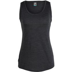 Icebreaker Sphere Tank - Womens-Black Heather