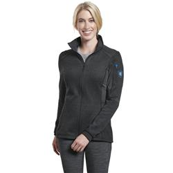 Kuhl Aktivator (Kalon) Full Zip - Womens-Carbon
