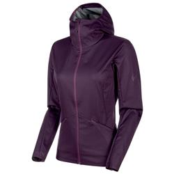 Mammut Ultimate V Tour SO Hooded Jacket - Womens-Galaxy Melange