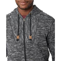 tentree Irvin Full Zip Hoodie - Men`s-Meteorite