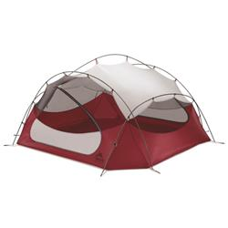 MSR Papa Hubba NX - 4 Person Tent-Red