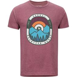 Marmot Daybreak Tee SS - Mens-Burgundy Heather