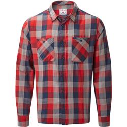 Rab Dusker LS Shirt - Mens-Autumn Red Check