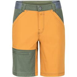 "Marmot Northsyde Shorts, 10"" Inseam - Mens-Aztec Gold / Crocodile"